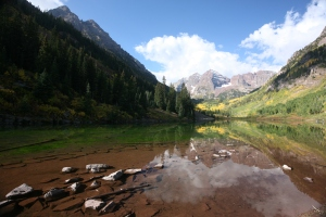 Stunning View of Maroon Bell Aspen CO.