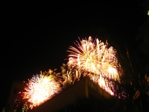 Baytown Fireworks show