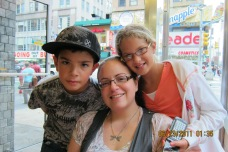 James Amber and Annie In New York City!!