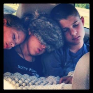 Heading Home from Great Wolf Lodge
