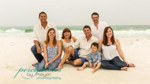 Rainy Day Beach Portraits (Holderer and Falleti Family)